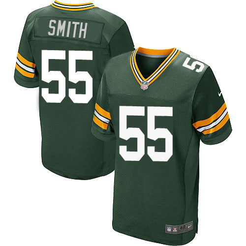 Nike Green Packers #55 Za'Darius Smith Green Team Color Men's Stitched NFL Elite Jersey