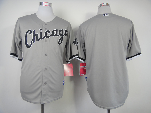 Chicago White Sox Blank Gray Jersey