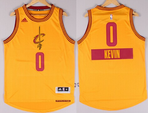 Cleveland Cavaliers  0 Kevin Love Revolution 30 Swingman 2014 Christmas Day  Yellow Jersey 41c333aee