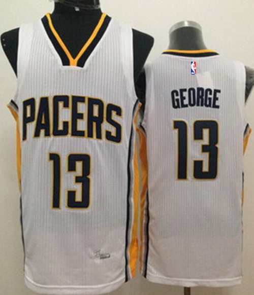 0a4422274 ... Indiana Pacers 13 Paul George Revolution 30 Swingman White Jersey  Indiana Pacers 24 ...