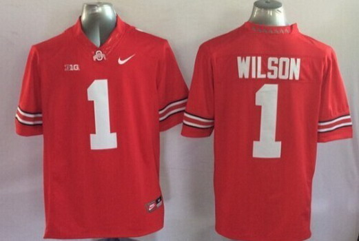 Ohio State Buckeyes #1 Dontre Wilson 2014 Red Limited Kids Jersey