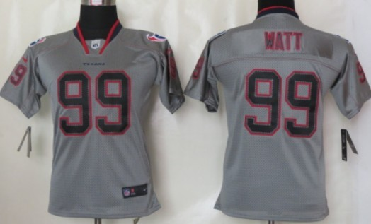 Nike Houston Texans  23 Arian Foster Lights Out Gray Kids Jersey on ... 39db78634