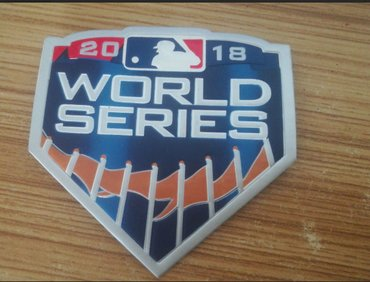 2018 MLB World Series Game Patch