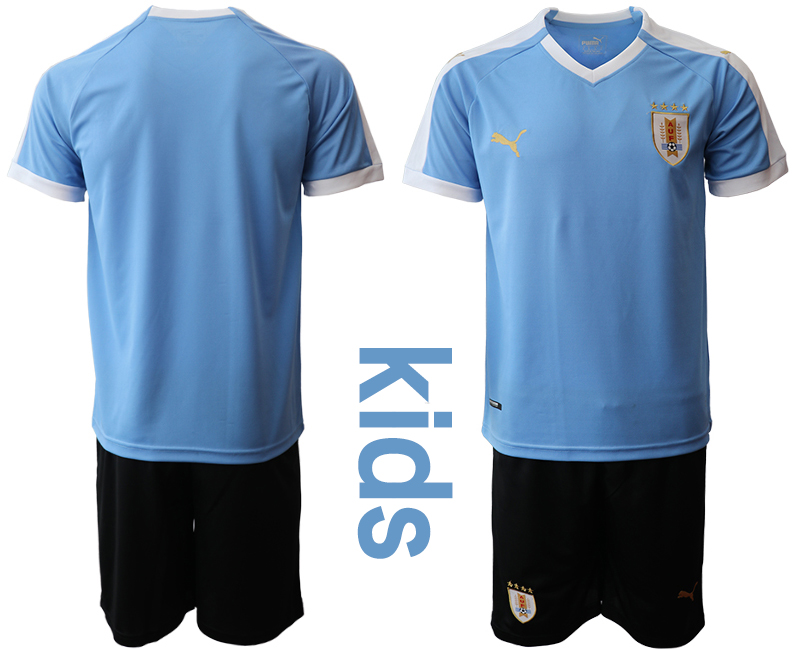 2019-20-Uruguay-Youth-Home-Soccer-Jersey