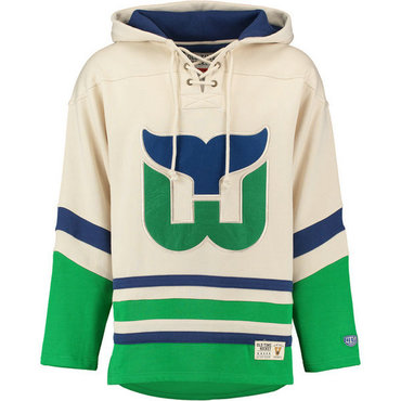 Whalers Cream Men's Customized All Stitched Sweatshirt