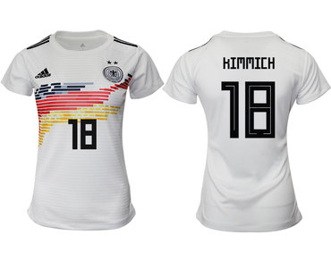 2019-20 Germany 18 HIMMICH Home Women Soccer Jersey
