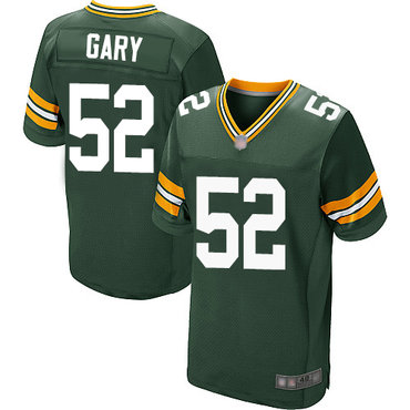 Packers #52 Rashan Gary Green Team Color Men's Stitched Football Elite Jersey