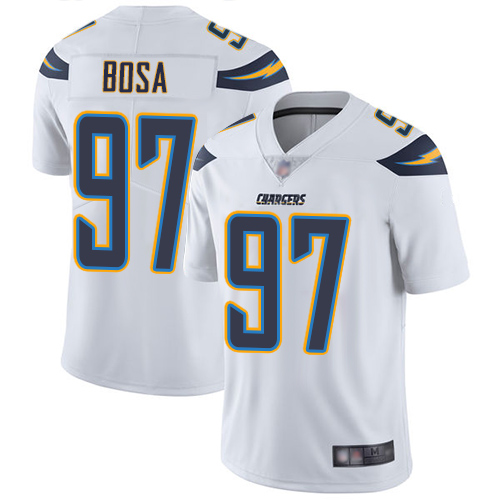 Chargers #97 Joey Bosa White Youth Stitched Football Vapor Untouchable Limited Jersey