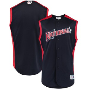 MLB National League Majestic Navy 2019 All-Star Game Jersey