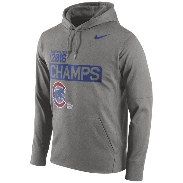 Chicago-Cubs-Nike-Gray-2016-World-Series-Champions-Celebration-Performance-Men's-Hoodie