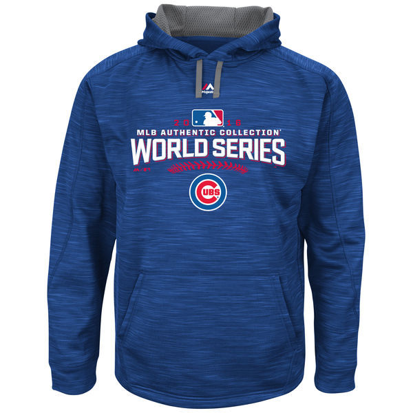 Chicago-Cubs-Royal-2016-World-Series-Bound-Authentic-Collection-On-Field-Participant-Streak-Fleece-Men's-Pullover-Hoodie