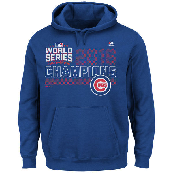 Chicago-Cubs-Royal-2016-World-Series-Champions-Fierce-Favorite-Men's-Pullover-Hoodie