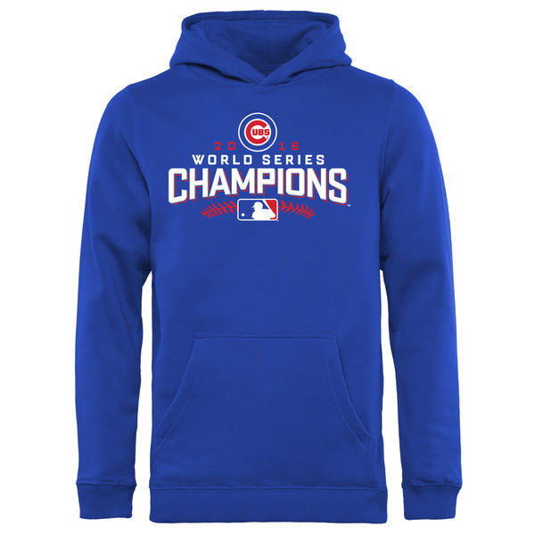 Chicago-Cubs-Royal-2016-World-Series-Champions-Walk-Sec-Youth's-Pullover-Hoodie