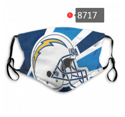 Los-Angeles-Chargers-Team-Face-Mask-Cover-with-Earloop-8717