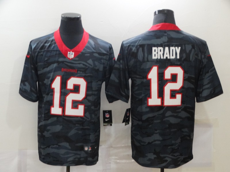 Men's Tampa Bay Buccaneers #12 Tom Brady 2020 Camo Limited Stitched Nike NFL Jersey