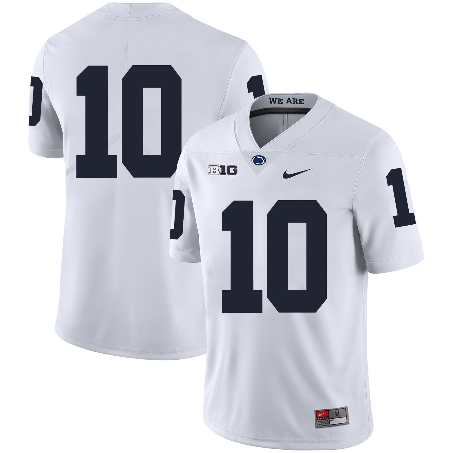 Penn State Nittany Lions 10 Trevor Williams White Nike College Football Jersey