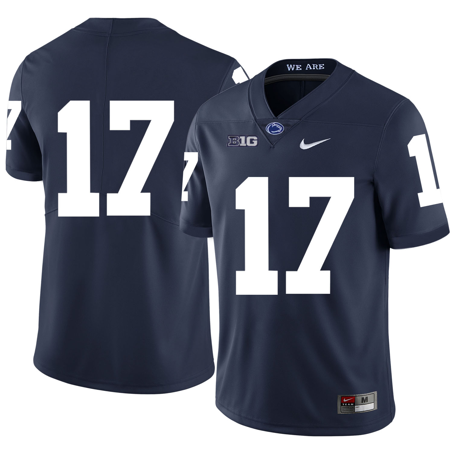 Penn State Nittany Lions 17 Generations Of Greatness Navy Nike College Football Jersey