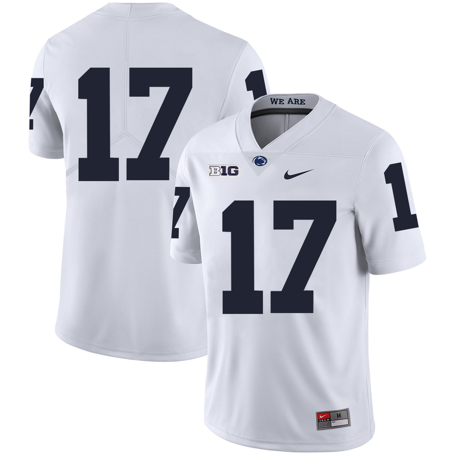 Penn State Nittany Lions 17 Generations Of Greatness White Nike College Football Jersey