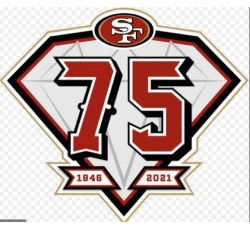San Francisco 49ers Release 75th Anniversary Patch