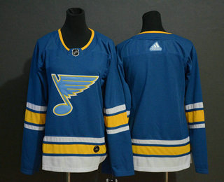 Youth St. Louis Blues Blank Blue Alternate Stitched NHL Jersey